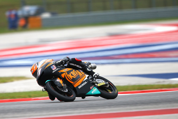 2017 Moto3 Championship - Round 3 Circuit of the Americas, Austin, Texas, USA Saturday 22 April 2017 Adam Norrodin, SIC Racing Team World Copyright: Gold and Goose Photography/LAT Images ref: Digital Image Moto3-Q-500-2248