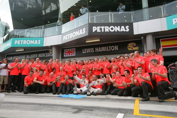 2007 Malaysian Grand Prix - Sunday Race