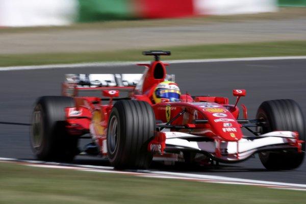2006 Japanese Grand Prix - Saturday Practice Suzuka, Japan. 5th - 8th October 2006 Felipe Massa, Ferrari 248F1, action. World Copyright: Charles Coates/LAT Photographic. ref: Digital Image ZK5Y6508