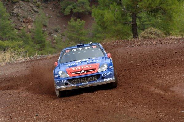 Colin McRae (GBR) Kronos Citroen Xsara WRC. World Rally Championship, Rd13, Rally of Turkey, Day One, Kemer, Turkey, 13 October 2006. DIGITAL IMAGE