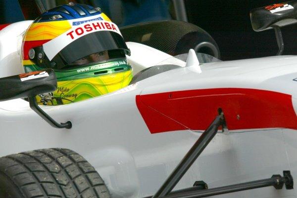 Mike Conway (GBR) Raikkonen Robertson Racing British Formula Three, Thruxton, England.23rd September 2006DIGITAL IMAGE