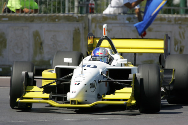 AJ Allmendinger (USA), RuSPORT Lola Ford Cosworth.