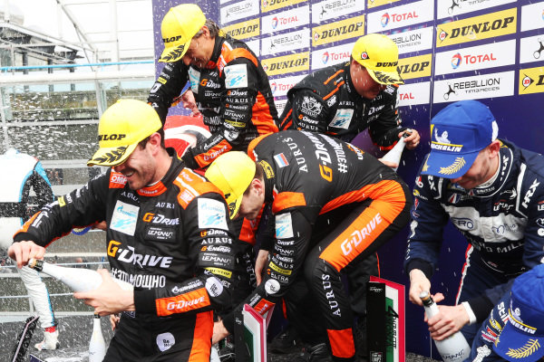 European Le Mans Series P2 Podium