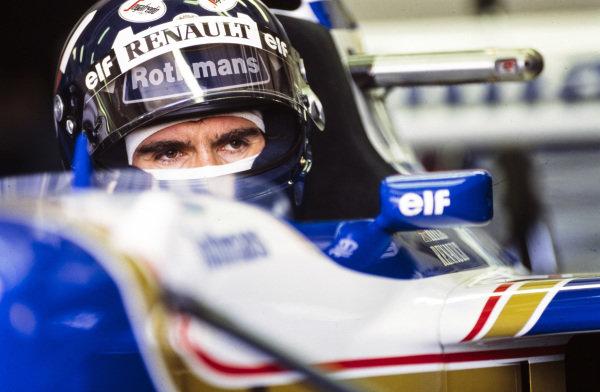 Damon Hill, Williams FW17 Renault.