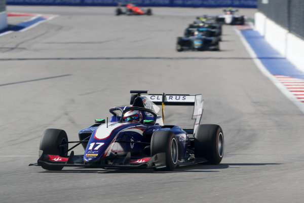 SOCHI AUTODROM, RUSSIAN FEDERATION - SEPTEMBER 29: Devlin DeFrancesco (CAN, Trident) during the Sochi at Sochi Autodrom on September 29, 2019 in Sochi Autodrom, Russian Federation. (Photo by Carl Bingham / LAT Images / FIA F3 Championship)