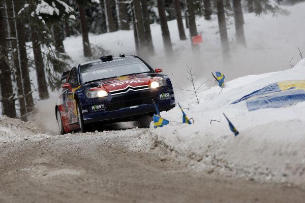 2010 FIA World Rally ChampionshipRound 01Rally Sweden 11-14 February 2010Sebastien Loeb, Citroen WRC, ActionWorldwide Copyright: McKlein/LAT