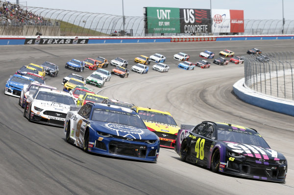 #48: Jimmie Johnson, Hendrick Motorsports, Chevrolet Camaro Ally #9: Chase Elliott, Hendrick Motorsports, Chevrolet Camaro Kelley Blue Book