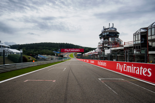 2017 FIA Formula 2 Round 8. Spa-Francorchamps, Spa, Belgium. Thursday 24 August 2017. A view of the track. Photo: Zak Mauger/FIA Formula 2. ref: Digital Image _54I9475