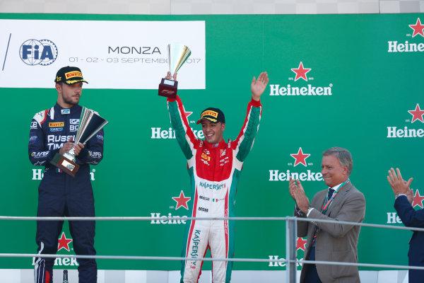 2017 FIA Formula 2 Round 9. Autodromo Nazionale di Monza, Monza, Italy. Sunday 3 September 2017. Antonio Fuoco (ITA, PREMA Racing).  Photo: Sam Bloxham/FIA Formula 2. ref: Digital Image _W6I4953