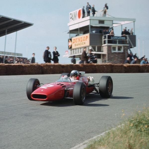 Zandvoort, Holland.22-24 July 1966.Lorenzo Bandini (Ferrari 312) 6th positionRef-3/2282.World Copyright - LAT Photographic