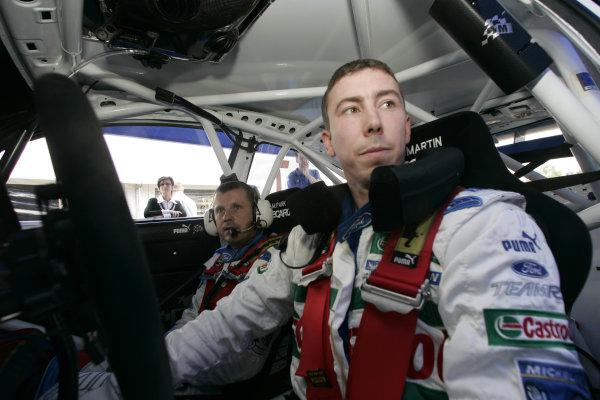 2004 FIA World Rally Champs. Round ten, OMV Deutschland Rally.19th - 22nd August 2004.Markko Martin, Ford, portrait.World Copyright: McKlein/LAT