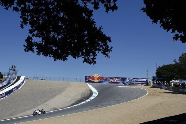 Race winner Jorge Lorenzo (ESP), FIAT Yamaha. MotoGP, Rd9 United States Grand Prix, Laguna Seca, USA, 23-25 July 2010.