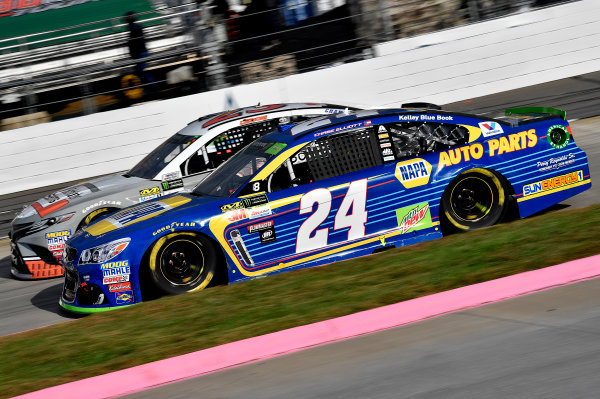 Monster Energy NASCAR Cup Series First Data 500 Martinsville Speedway, Martinsville VA USA Sunday 29 October 2017 Chase Elliott, Hendrick Motorsports, NAPA Chevrolet SS World Copyright: Rusty Jarrett LAT Images