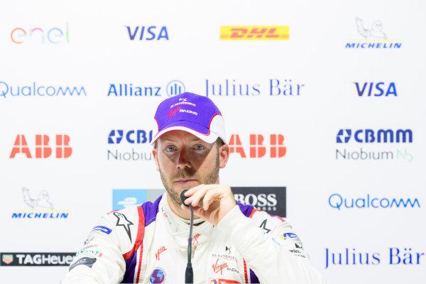 Sam Bird (GBR), DS Virgin Racing, DS Virgin DSV-03, in the press conference.