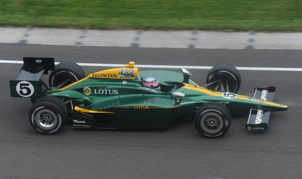 15-21 MAY, 2010, Indianapolis, Indiana, USA#5 Lotus KV Racing Technology's Takuma Sato.©Dan R. Boyd, USA LAT Photographic