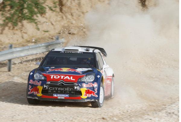 Round 04 Rally Jordan. 14th-16th April 2011.Sebastien Ogier, Citroen WRC, Action.Worldwide Copyright: McKlein/LAT
