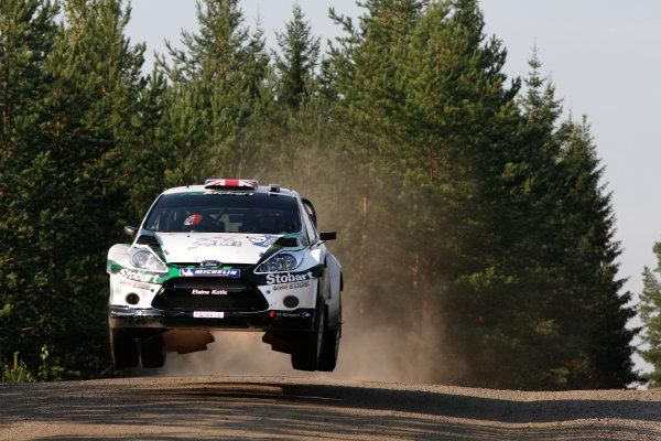 Round 8, Rally Finland, 28th - 30th July 2011Matthew Wilson, Ford, ActionWorldwide Copyright: LAT/McKlein