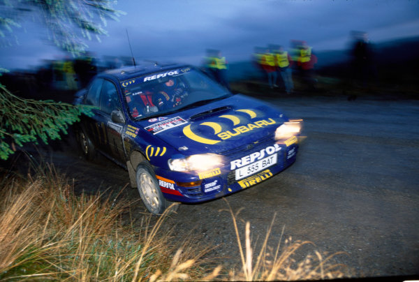 Lombard RAC Rally, Great Britain. 20-23 November 1994.