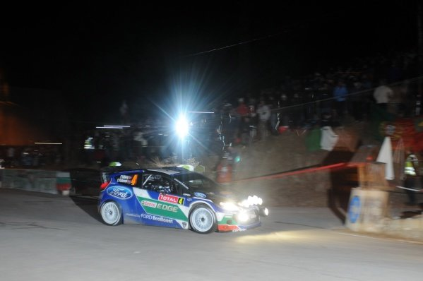 Petter Solberg (NOR), Ford Fiesta RS WRC, at the Col du Turini on stage 16.
