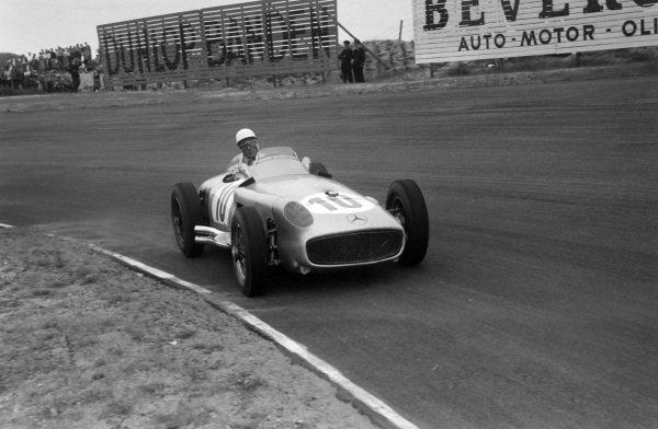 Stirling Moss, Mercedes W196.