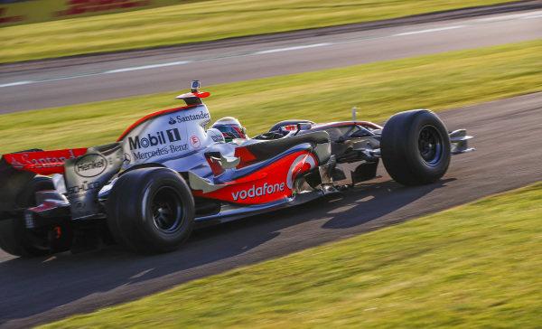 2008 McLaren MP4-23 Mercedes demonstration laps