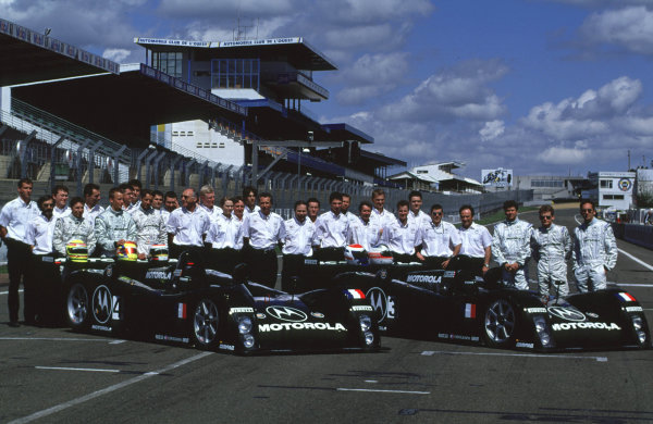 2000 Le Mans Pre-Qualifying.