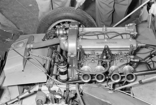 A Stanguellini 750 Sport engine.
