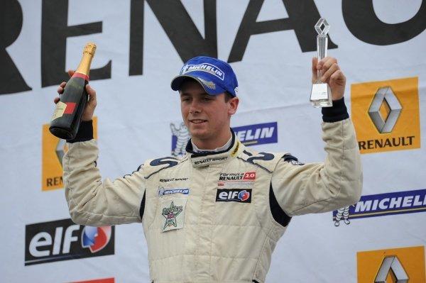 Dean Stoneman (GBR) Alpine Motorsport finished 3rd in both races.Formula Renault UK, Rd8, Silverstone, England, 29-30 August 2009.