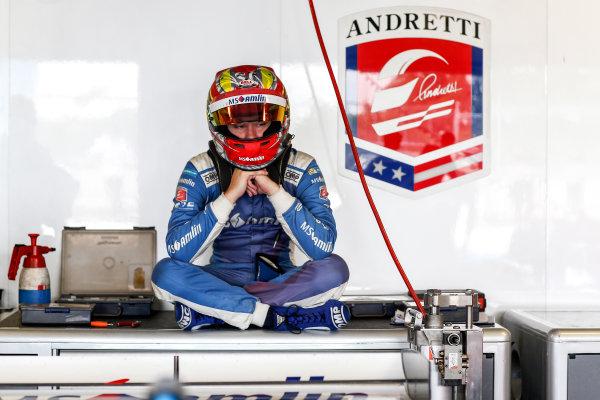 FIA Formula E Second Pre-Season Testing Event. Robin Frijns, MS Amlin Andrettti, Spark-Andretti. Donington Park Racecourse, Derby, United Kingdom. Wednesday 7 September 2016. Photo: Adam Warner / LAT ref: Digital Image _L5R3051