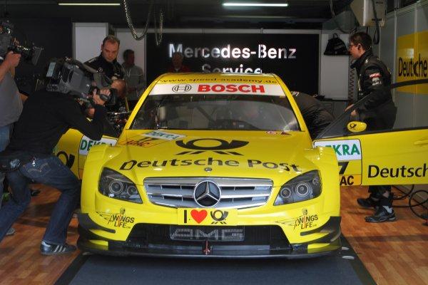 David Coulthard (GBR), AMG Mercedes, AMG Mercedes C-Klasse (2008).DTM, Rd1, Hockenheim, Germany, 23-25 April 2010 World Copyright: LAT Photographicref: Digital Image dne1023ap03
