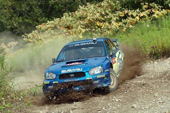 Mikko Hirvonen (FIN) / Jarmo Lehtinen (FIN) Subaru Impreza WRC 2004.World Rally Championship, Rd11, Rally of Japan, Shakedown, Obihiro, Hokkaido, Japan, 2 September2004.DIGITAL IMAGE
