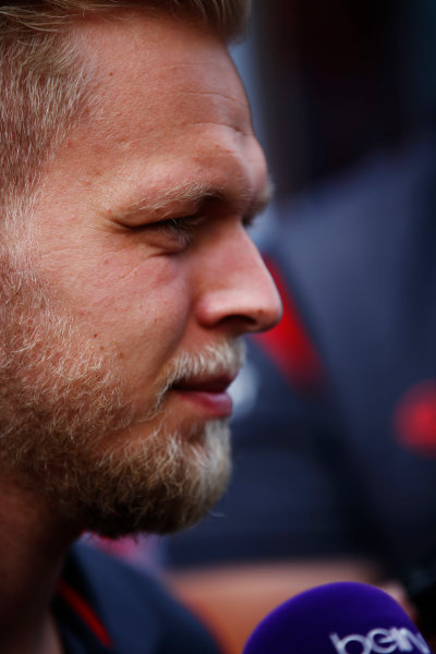 Spa Francorchamps, Belgium.  Thursday 24 August 2017. Kevin Magnussen, Haas F1.  World Copyright: Andy Hone/LAT Images  ref: Digital Image _ONY3138