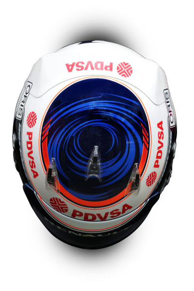 Albert Park, Melboune 14th March 2013 The helmet of Valtteri Bottas, Williams F1. World Copyright: LAT Photographic ref: Digital Image DKAL8658