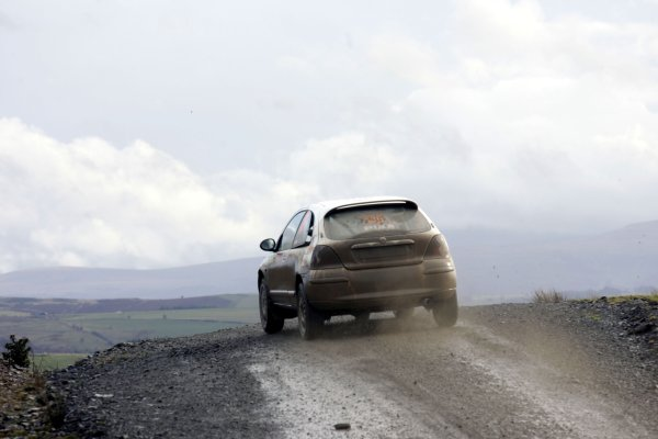 2007 British Rally ChampionshipWales Rally GB, 30thNovember  - 2nd December 2007,Matt Beebe/MGZRWorld Copyright: Ebrey/LAT Photographic