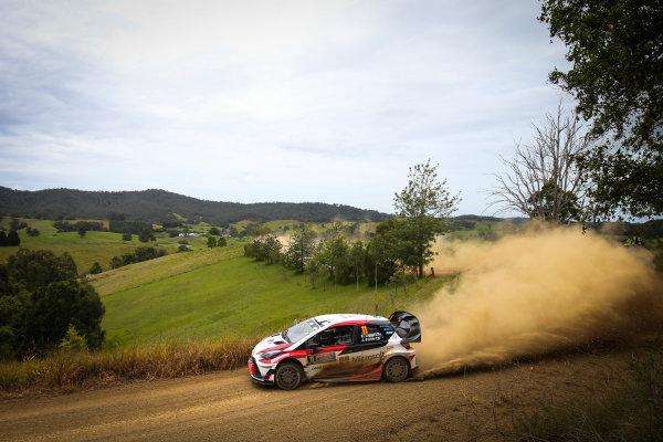 2017 FIA World Rally Championship, Round 13, Rally Australia 2017, 16-19 November 2017, Esapeka Lappi, Toyota, action, Worldwide Copyright: LAT/McKlein