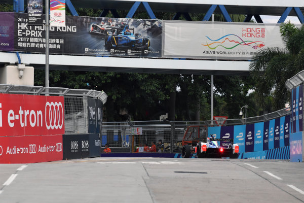 2017/2018 FIA Formula E Championship. Round 1 - Hong Kong, China. Saturday 02 December 2018. Nick Heifeld (GER), Mahindra Racing, Mahindra M4Electro.  Photo: Mark Sutton/LAT/Formula E ref: Digital Image DSC_8567