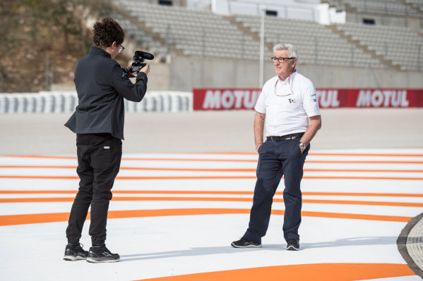 2017 MotoGP Championship - Round 18 Valencia, Spain  Thursday 9 November 2017 Nick Harris, MotoGP, the voice of MotoGP  World Copyright: Alexander Trienitz/LAT Images ref: Digital Image 704374