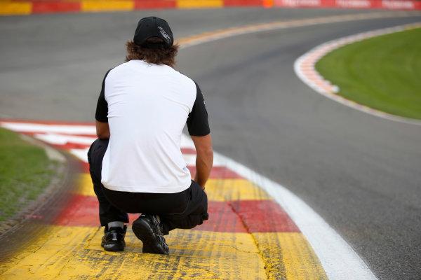 Spa-Francorchamps, Spa, Belgium. Thursday 20 August 2015. Fernando Alonso, McLaren. World Copyright: Steven Tee/LAT Photographic ref: Digital Image _L4R9305