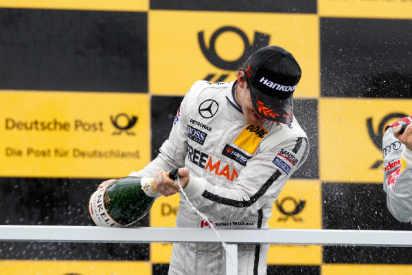 2014 DTM Championship Round 4 - Norisring, Germany 27th - 29th June 2014  Podium, Robert Wickens (CAN) Mercedes AMG DTM-Team HWA DTM Mercedes AMG C-Coup? World Copyright: XPB Images / LAT Photographic  ref: Digital Image 3190692_HiRes