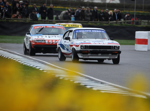 2017 75th Members Meeting Goodwood Estate, West Sussex,England 18th - 19th March 2017 Gerry Marshall Trophy Pirro Fowler Capri World Copyright : Jeff Bloxham/LAT Images Ref : Digital Image