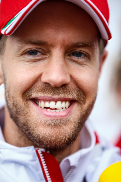 Shanghai International Circuit, Shanghai, China.  Friday 7 April 2017. Sebastian Vettel, Ferrari. World Copyright: Andrew Hone/LAT Images ref: Digital Image _ONZ4329