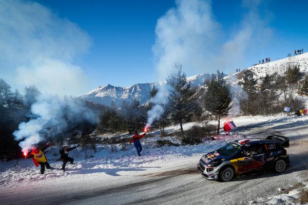 2017 FIA World Rally Championship, Round 01, Rally Monte Carlo, January 18-22, 2017, Sebastien Ogier, Ford, Action, Worldwide Copyright: McKlein/LAT