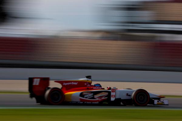 Circuit de Barcelona Catalunya, Barcelona, Spain. Monday 13 March 2017. Ralph Boschung (SUI, Campos Racing). Action.  Photo: Alastair Staley/FIA Formula 2 ref: Digital Image 580A0115