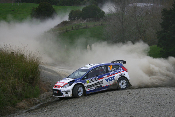 2010 FIA World Rally ChampionshipRound 05Rally New Zealand 7 - 9 May  2010Janne Tuohino, Ford Fiesta S2000, actionWorldwide Copyright: McKlein/LAT