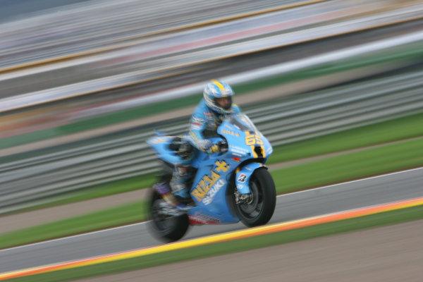 Ricardo Tormo Circuit, Valencia, Spain.24th - 26th October 2008.Loris Capirossi Rizla Suzuki Team.World Copyright: Martin Heath / LAT Photographicref: Digital Image BPI_Moto 64p4
