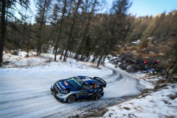 2017 FIA World Rally Championship, Round 01, Rally Monte Carlo, January 18-22, 2017, Ott Tanak, Ford, Action, Worldwide Copyright: McKlein/LAT