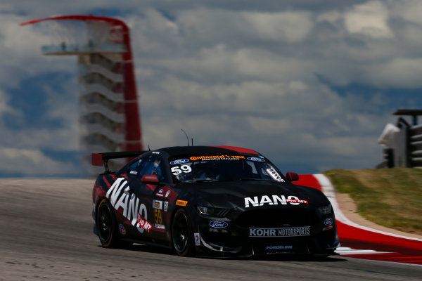 IMSA Continental Tire SportsCar Challenge Advance Auto Parts SportsCar Showdown Circuit of The Americas, Austin, TX USA Thursday 4 May 2017 59, Ford, Ford Mustang, GS, Dean Martin, Jack Roush Jr World Copyright: Jake Galstad LAT Images
