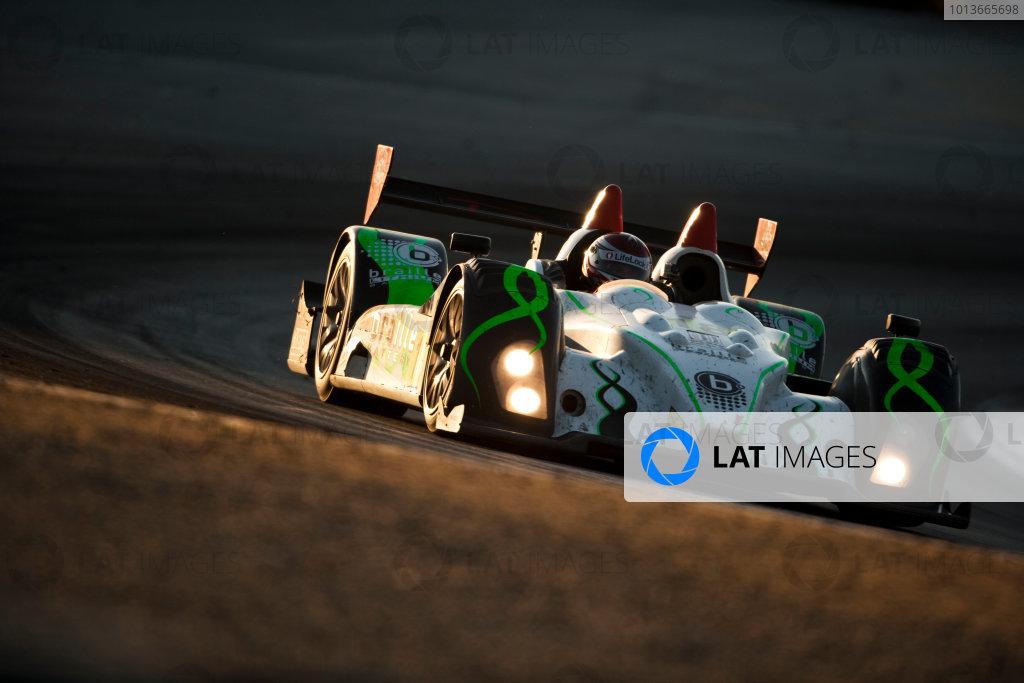 American Le Mans Series. Laguna Seca, Monterey, California. 15th - 17th September 2011. Anthony Nicolosi / Jarrett Boon / Jan - Dirk Lueders, Performance Tech Motorsports, Oreca FLM09. Action. Photo: Drew Gibson/LAT Photographic. ref: Digital Image _Y2Z7007