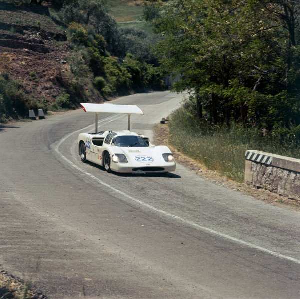 Little Madonie Circuit, Sicily, Italy. 14th May 1967. Rd 5.