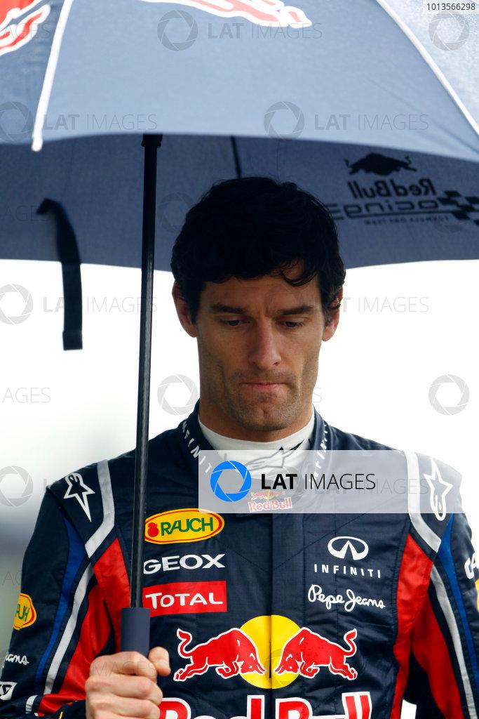 Albert Park, Melbourne, Australia24th March 2011.Mark Webber, Red Bull Racing RB7 Renault. Portrait. World Copyright: Glenn Dunbar/LAT Photographicref: Digital Image _G7C1149